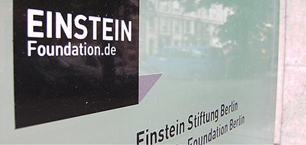Eingang der Einstein Stiftung Berlin