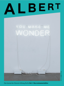 Cover des Albert Nummer 2 zum Thema Neurowissenschaften.