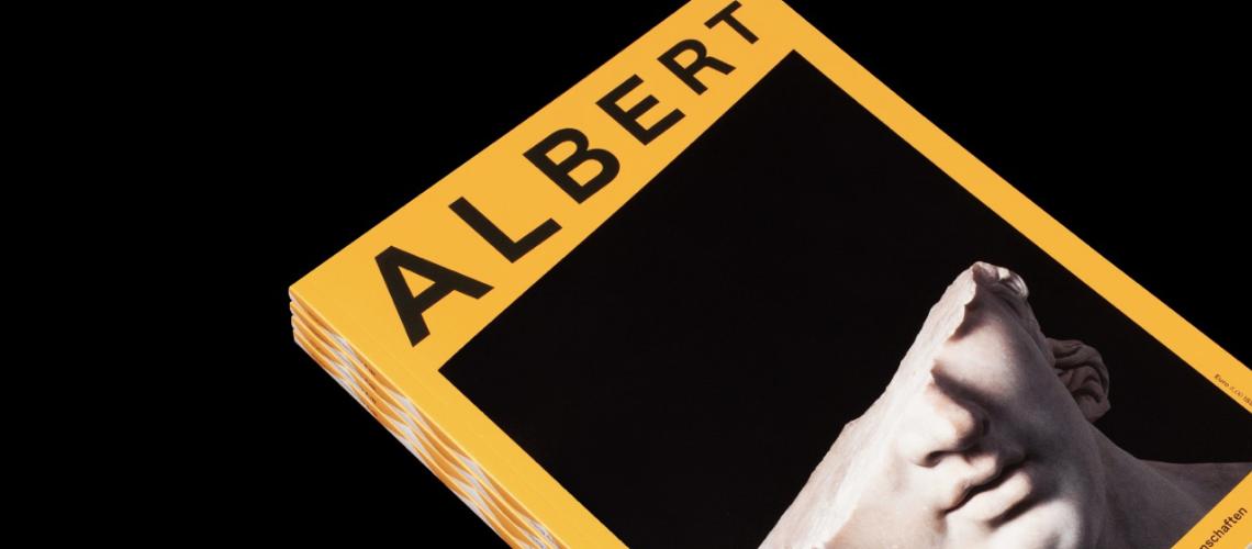 Das Einstein Journal Albert zum Thema Altertumswissenschaften