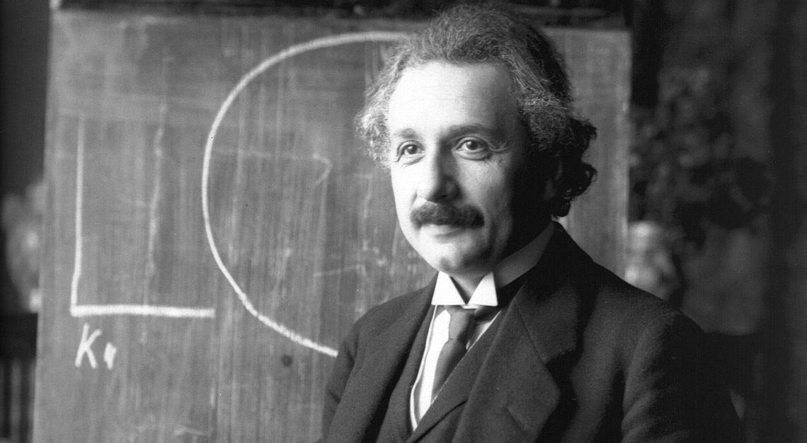 Porträt von Albert Einstein