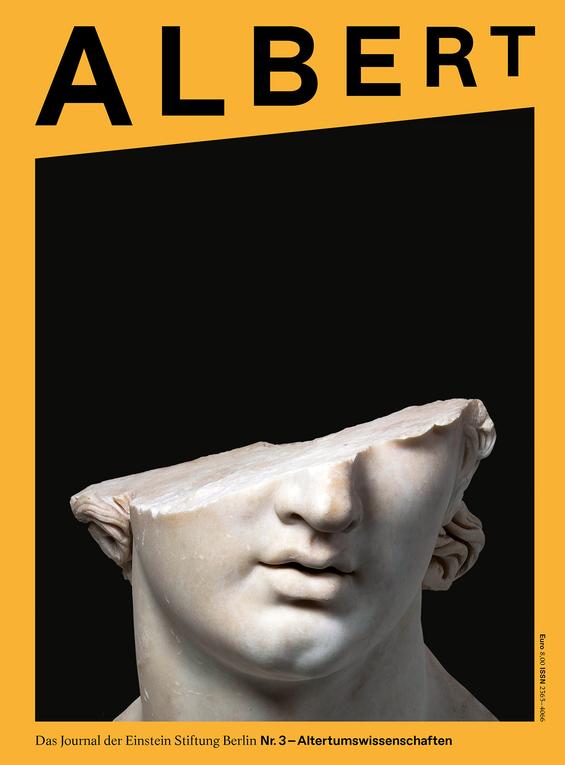 Cover des Albert Nummer 3 zum Thema Altertumswissenschaften.