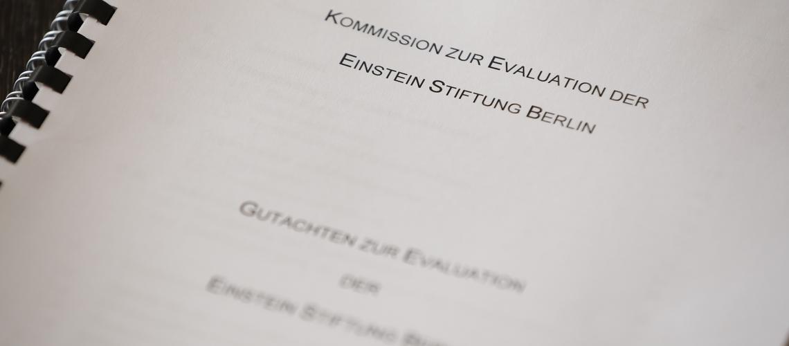Evaluationsbericht der Einstein Stiftung Berlin