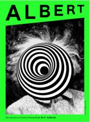 Cover des Albert Nummer 4 zum Thema Jubiläum der Einstein Stiftung