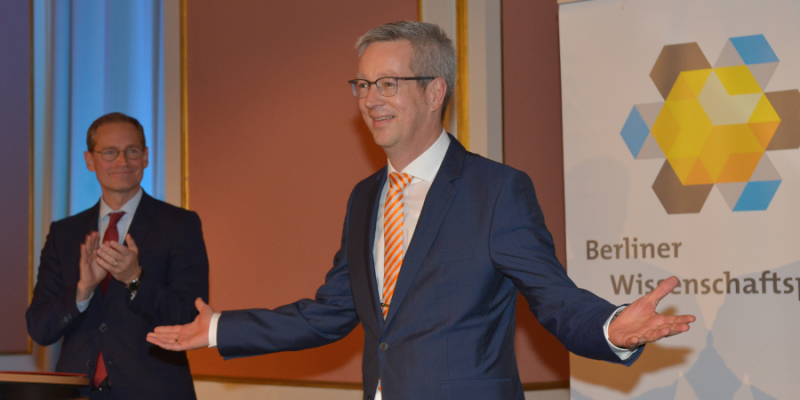 Günter M. Ziegler erhält Berliner Wissenschaftspreis