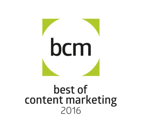 Logo des BCM Award 2016