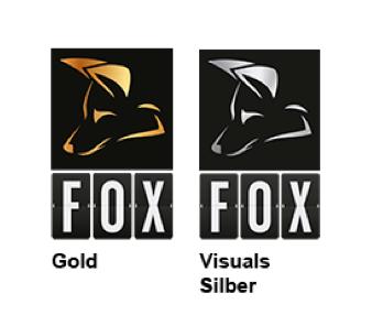 Logo des Fox Award 2016 in Gold und Silber
